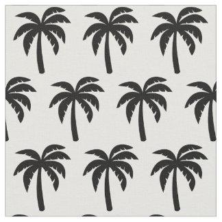 Tissu noir de palmier