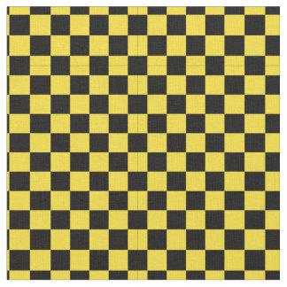 tissu noir et jaune pour loisirs cr atifs couture. Black Bedroom Furniture Sets. Home Design Ideas