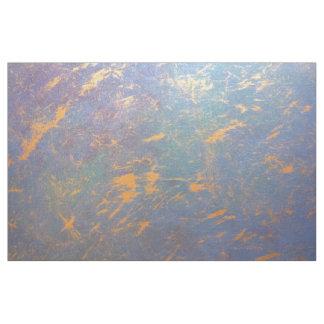 Tissu Or en pastel   d'aquarelle colorée erratique du