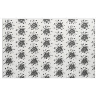 Tissu Or et nuances élégants de gris