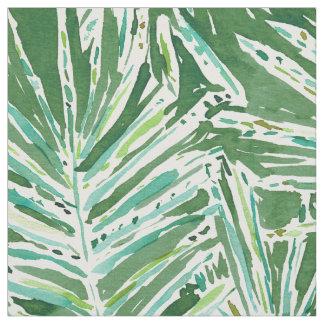 Tissu Palmettes tropicales COUVERTES DE PALMIERS ET 85