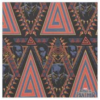 Tissu Panneau de tribal de guerriers de la panthère