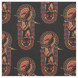 Tissu Panthère noire | Okoye et panneau de Nakia