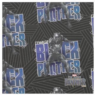 Tissu Panthère noire | T'Challa - graphique de panthère