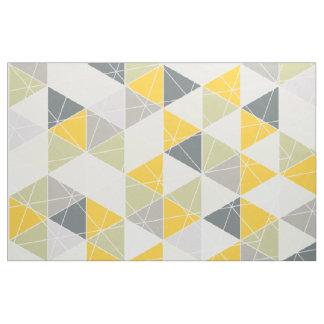 Tissu PixDezines géométrique/jaune/gris