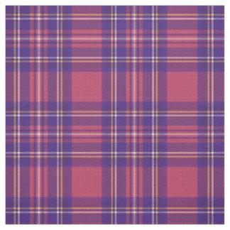 Tissu Plaid chaud rose du cru 3/bleu/pourpre/jaune/blanc