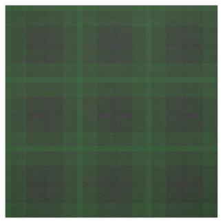 Tissu Plaid foncé, vert-foncé, noir/greenstripe