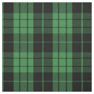 Tissu plaid noir multi léger de rayure de vert de chaux