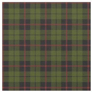 Tissu plaid rouge print2 de rayure de vert d'armée
