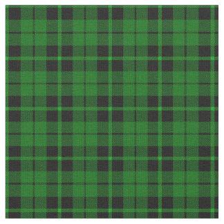 Tissu Plaid vert noir vert clair print2 de rayure
