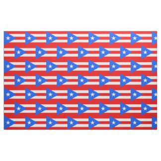 Tissu portoricain de drapeau