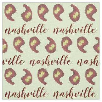 Tissu Poulet chaud de Nashville avec la nourriture du