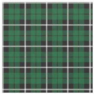Tissu Rayure blanche de Kelly/noire verte