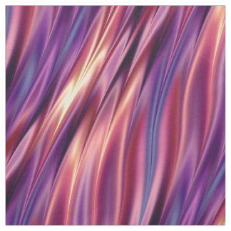 Tissu Rayures onduleuses colorées par coucher du soleil