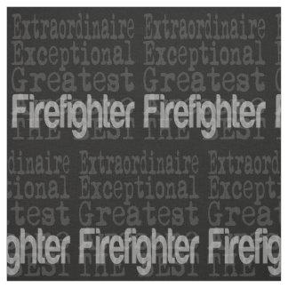 Tissu Sapeur-pompier Extraordinaire
