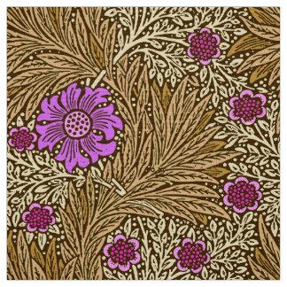 Tissu Souci, Brown, beige et violette de William Morris