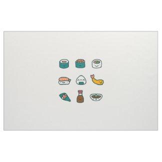 Tissu Sushi - aléatoires