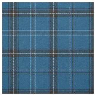 Tissu Tartan de bleu de Ramsay d'écossais