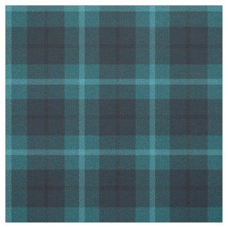 Tissu Teal foncé/Aqua ? turquoise, plaid de noir/blanc