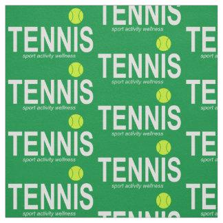 Tissu Tennis