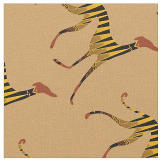 Tissu tissus azawakhs stylisés