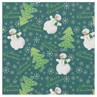 Tissu Toujours motif d'amusement de Noël