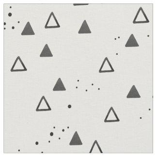 Tissu Triangles et points