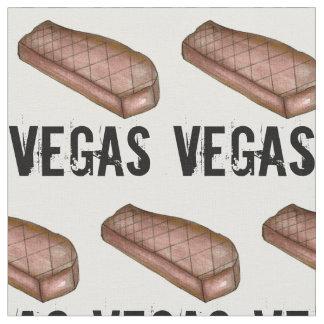Tissu Viande grillée de bifteck de bande de Las Vegas