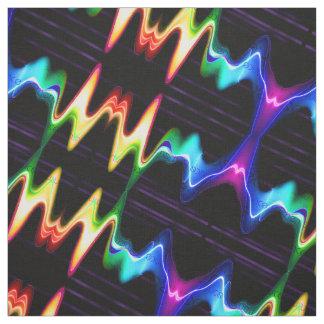 Tissu Vibraphone coloré