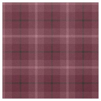 Tissu Vin, prune rouge, plaid noir/blanc pourpre de
