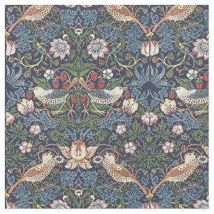 Tissu William Morris Vintage Strawberry Thief Motif