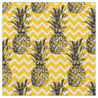 Tissu Zigzags d'ananas