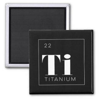 Titane de //de bouton d'éléments de Tableau Aimant