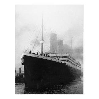 Titanic dans le dock à Southampton Carte Postale