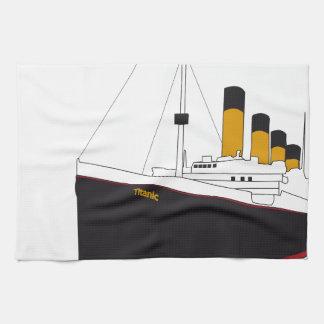 titanic original linges de cuisine