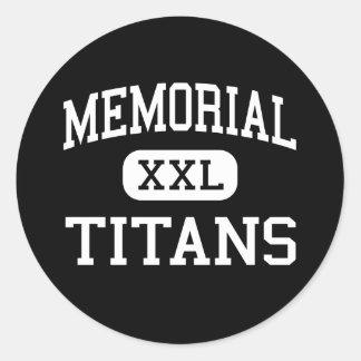 - Titans - haut commémoratif - Port Arthur le Sticker Rond