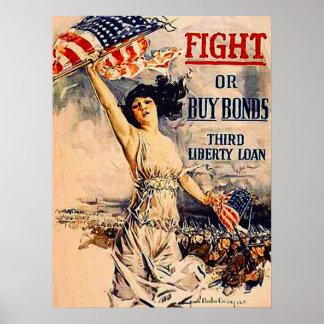 Titres d'emprunt de guerre affiches