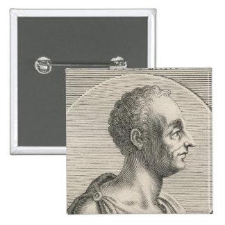 Titus Livius Badge Carré 5 Cm