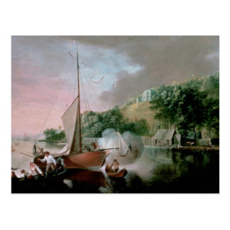 Tivoli, près de liège, 1780s carte postale