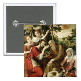 Tobias traitant la cécité de son père, 1563 badges