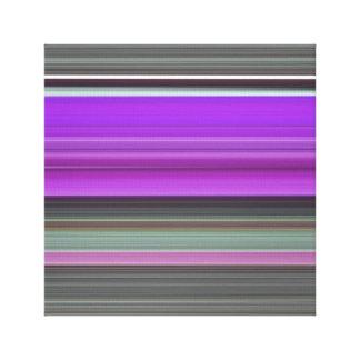 Toile #1 abstrait : Pourpre et gris