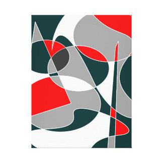 Toile #76 abstrait