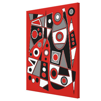 Toile #968 abstrait