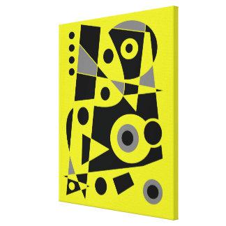 Toile #972 abstrait