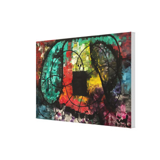 """Toile """"A étiré"""" la peinture originale abstraite"""
