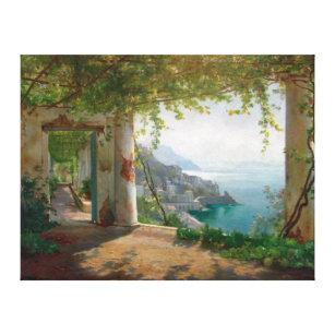 Toile Aagaard Loggia Amalfi Italie Peinture