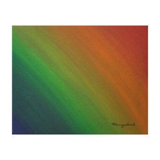 Toile Abrégé sur coloré arc-en-ciel de la fierté   Ombre