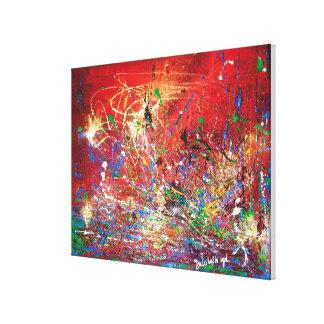 Toile Abstrait-Mars