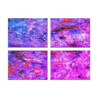 Toile abstraite de galerie d'éclaboussure d'art de