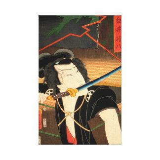 Toile Acteur japonais (#4) (copie vintage de Japonais)